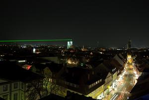 Gauss-Weber-Telegraf Laserinstallation